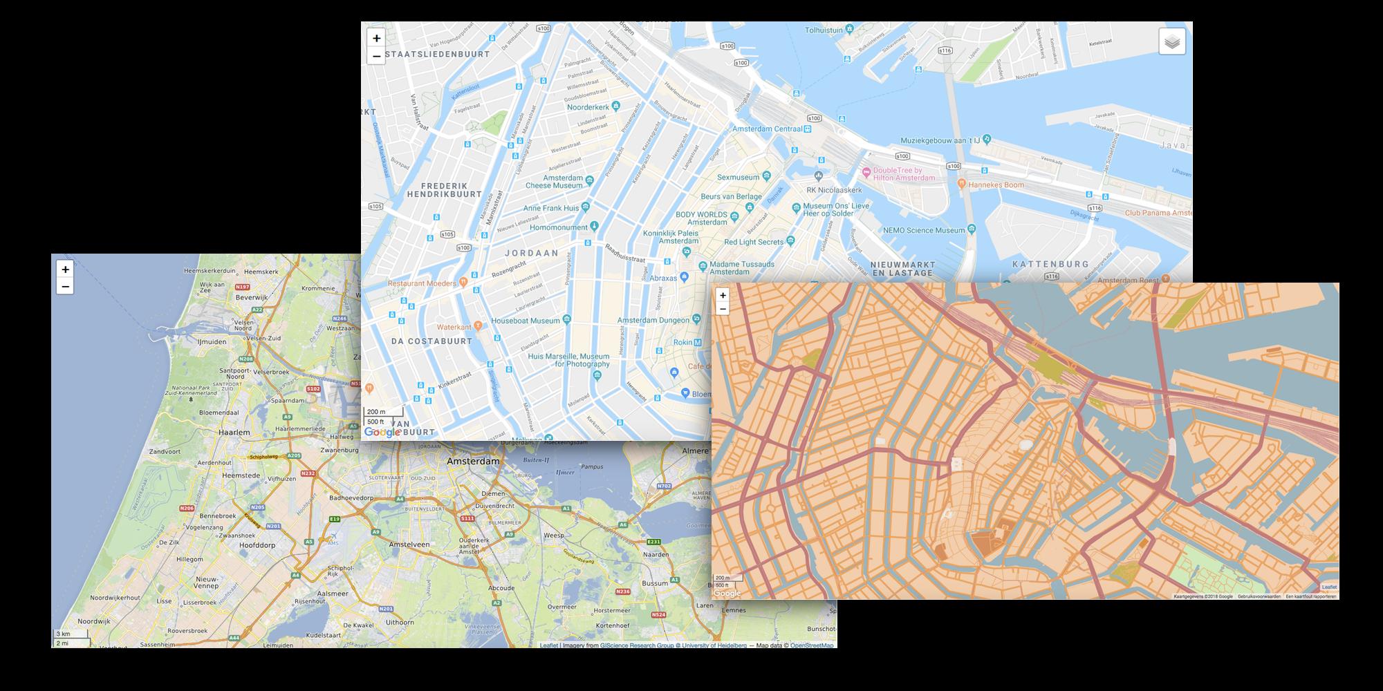 Maps | ExpressionEngine / Craft | Reinos nl Internet Media